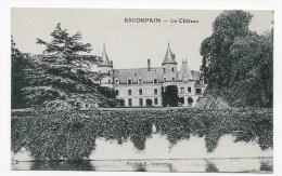 ESCORPAIN - LE CHATEAU - CPA NON VOYAGEE - Autres Communes