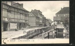 CPA Bernay, Le Pont De Boucheville - Bernay