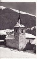 VERBIER (Valais-Suisse)  Vue Sur Clocher De L'église En Hiver - VOIR 2 SCANS - - VS Valais