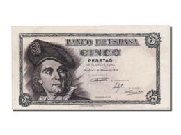 Espagne, 5 Pesetas Type Elcano - [ 3] 1936-1975 : Régence De Franco