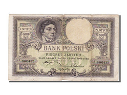 Pologne, 500 Zlotych Type 1919 - Pologne