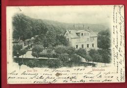 MBN-21 Wiesbaden  Beau Site  Restaurant Wiener  Café. Pioneer. Gelaufen In 1901 Nach Calvados - Wiesbaden