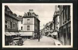 CPA Bernay, Rue Thiers, Cafe Du Commers, Pharmacie - Bernay
