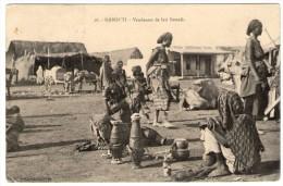DJIBOUTI - VENDEUSES DE LAIT SOMALIS - 1913 - Gibuti