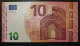 10 Euro E007C2 Serie EB Draghi Perfect UNC - EURO