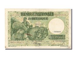 Belgique, 50 Francs Type Anto Carte - [ 2] 1831-... : Royaume De Belgique