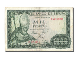 Espagne, 1000 Pesetas Type St Isidore - [ 3] 1936-1975: Regime Van Franco