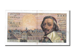 1000 Francs Type Richelieu - 1871-1952 Circulated During XXth