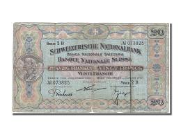 Suisse, 20 Francs Type 1921-28 - Switzerland