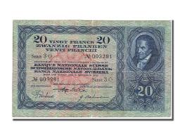 Suisse, 20 Francs Type 1929-50 - Switzerland