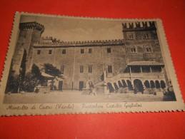B652 Montalto Di Castro (viterbo) Castello Cmx13,5 Viaggiata Pieghna Angolo - Italia