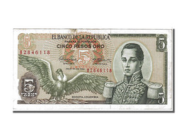 Colombie, 5 Pesos Oro Type Cordoba - Colombie
