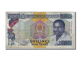 Tanzanie, 500 Shilingi Type 1989-92 - Tanzanie