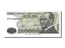 Turquie, 10 Lira Type Atatürk - Turkey