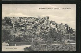 CPA Montbrun-les-Bains, Vue De L'Ouest - Non Classés