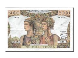 5000 Francs Type Terre Et Mer - 1871-1952 Frühe Francs Des 20. Jh.