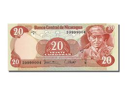 Nicaragua, 20 Cordobas Type G. Pamares Ordonez - Nicaragua