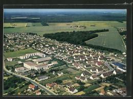CPA Chatelet-en-Brie, Lotissement De La Plaine Et College Rosa-Bonheur, Vue Aerienne - Le Chatelet En Brie
