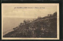 CPA Villers-sur-Mer, Falaises, Côté Ouest - Villers Sur Mer