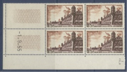 N° 1042 Brouage 25f - Date 01-09-55 - 1950-1959