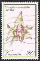 Vanuatu SG335 1982 Orchids 20v Good/fine Used - Wallis And Futuna
