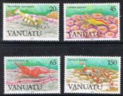 Vanuatu SG519-522 1989 Marine Life (3rd Series) Set 4v Complete Unmounted Mint - Vanuatu (1980-...)