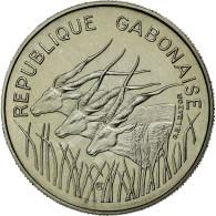 Monnaie, Gabon, 100 Francs, 1971, Paris, FDC, Nickel, KM:E3 - Gabón