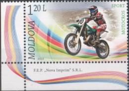 """Moldova 2015  """"Motocross"""" 1v Quality 100% - Motorbikes"""