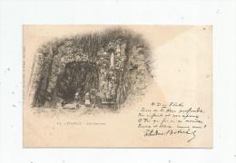 Cp , 22 , ETABLES , Les Grottes , Dos Simple , Vierge , BOTREL , Notre Dame Des Flots - Etables-sur-Mer