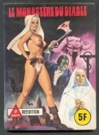 No PAYPAL !! : Le Monastère Du Diable ,Petit Format BD érotique Sex Mai 1980 Elvifrance Sex Per Adulti TTBE/NEUF - Petit Format