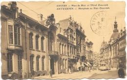 Anvers NA10: Place De Meir Et L'Hôtel Osterrieth 1926 ( Tramway ) - Antwerpen