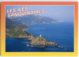 Souvenir De Corse - AJACCIO - Les Îles Sanguinaires. - Non écrite - 2 Scans - Ajaccio