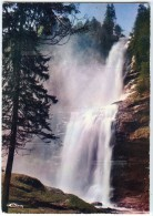SIXT (Haute-Savoie) - La Cascade Du Rouget - CIM  - Non écrite - 2 Scans - France