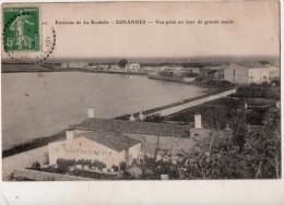 Environs De La Rochelle Esnandes Vue Prise Un Jour De Grande Marée - France