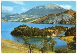 Le Lac De SERRE-PONÇON Par La Route De Chorges - écrite (jeu-concours) Et Timbrée - 2 Scans - France
