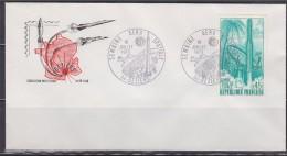 = Semaine Aéro-Spatiale 34 Béziers 10 Juillet 70 N°1635 Premier Lancement Fusée Diamant B Guyane Terre De L'Espace - FDC & Gelegenheidsboekjes