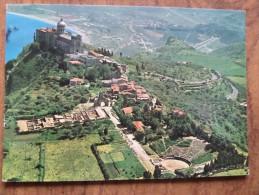 49698 POSTCARD: ITALY: SICILIA: MESSINA: TINDARI: Il Santyario - Veduta Aerea. / The Sanctuary - Aerial View. - Messina