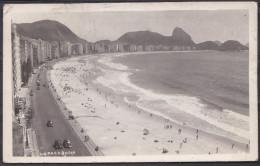 BRASIL , COPACACABANA , OLD POSTCARD - Copacabana