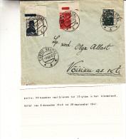 Russie - Estonie - Lettre De 1940 - Oblitération Tartu Vaksal - Expédié Vers La France - Nice - 1923-1991 URSS