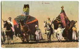 BASSOURS - Afrique Du Nord  - Colorisée Non écrite - 2 Scans - Algérie
