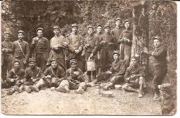 Carte Photo Militaire 1914 1918 - Soldats 85e RI Regiment Infanterie Au Repos - Guerra 1914-18
