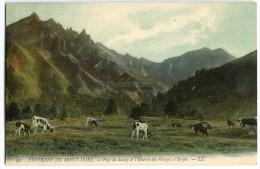 Environs Du Mont-Dore - Puy De Sancy Et L'Entrée Des Gorges D'Enfer - Colorisée Non écrite - 2 Scans - France