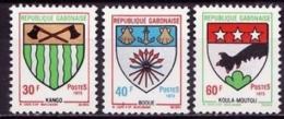 GABUN Mi.Nr. 517-519 ** (A-1-2) - Gabun (1960-...)
