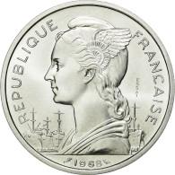 Monnaie, FRENCH AFARS & ISSAS, 5 Francs, 1968, Paris, FDC, Aluminium - Otros – Africa