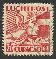 Curacao,  20 C. 1931, Sc # C6, Used. - Curaçao, Antilles Neérlandaises, Aruba