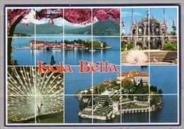 Isola Bella  , Lago Maggiore , Mehrbildkarte - Verbania