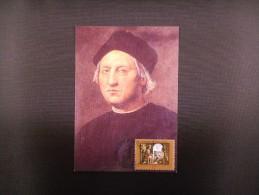 Maximum Card, Columbus - Christoffel Columbus