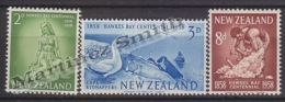New Zealand - Nouvelle Zelande 1958 Yvert 371-73 Centenary To The Province Of Hawke - MNH - Ungebraucht