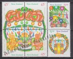 New Zealand - Nouvelle Zelande 1993 Yvert 1241-1246 Christmas - Noël - MNH - New Zealand