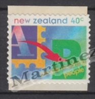New Zealand - Nouvelle Zelande 1995 Yvert 1408 Definitive - People Reaching People - MNH - Nouvelle-Zélande